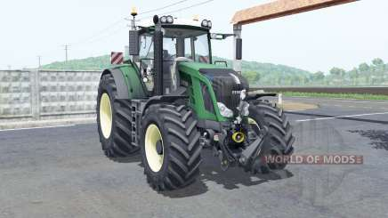 Fendt 828 Vario rim color selection для Farming Simulator 2017