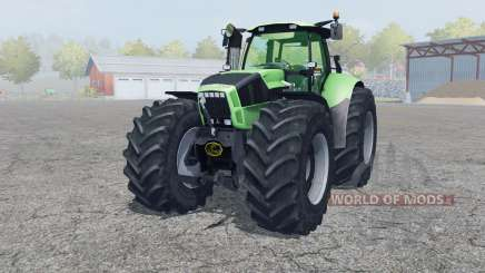 Deutz-Fahr Agrotron X 720 2012 front loader для Farming Simulator 2013