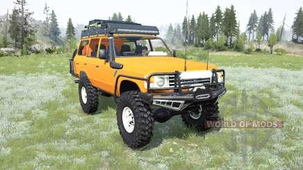 Toyota Land Cruiser 60 для MudRunner