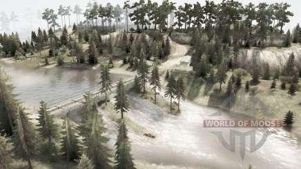 Реки от Урала для MudRunner