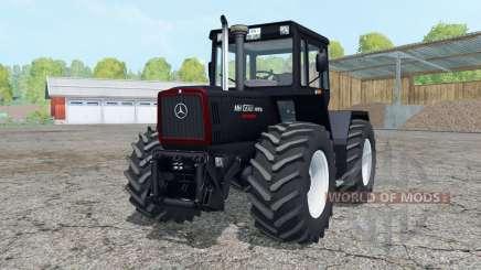 Mercedes-Benz Trac 1800 Intercooler Black Beauty для Farming Simulator 2015