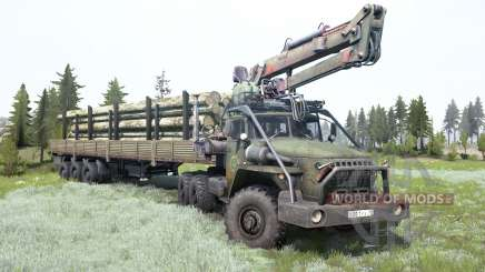 Урал-4320-10 для MudRunner