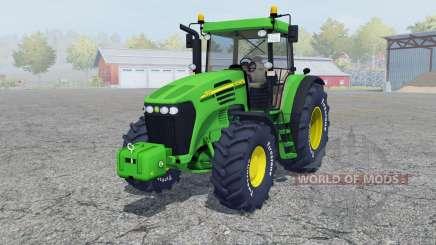 John Deere 7820 add wheels для Farming Simulator 2013