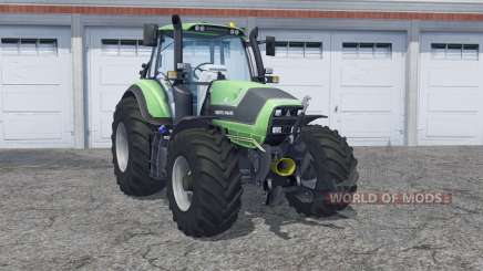 Deutz-Fahr Agrotron 6190 double wheels для Farming Simulator 2013