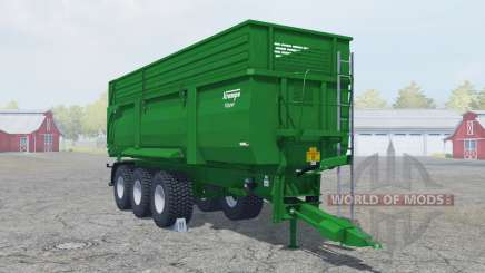 Krampe Big Body 900 green line для Farming Simulator 2013