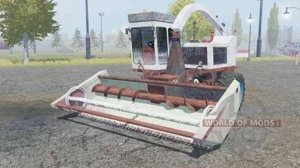 КСК-100 тёмно-каштановый окрас для Farming Simulator 2013
