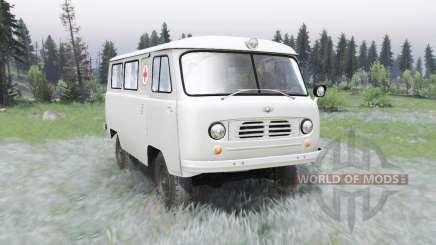 УАЗ-450А 1957 для Spin Tires