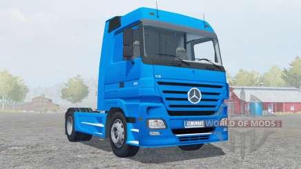 Mercedes-Benz Actros 1860 (MP2) 4x4 2005 для Farming Simulator 2013