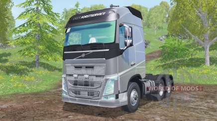 Volvo FH16 750 Globetrotter cab 2014 для Farming Simulator 2015