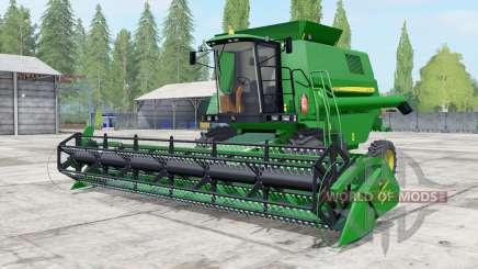 John Deere 1550 north texas green для Farming Simulator 2017