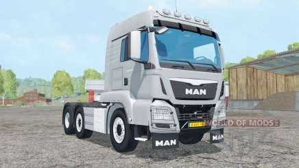MAN TGS 6x2-4 для Farming Simulator 2015