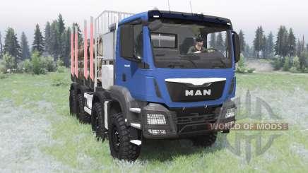 MAN TGS 41.480 2012 для Spin Tires