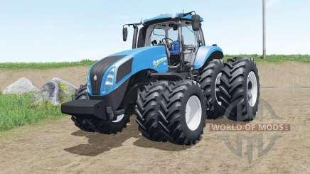 New Holland T8 brazilian version для Farming Simulator 2017