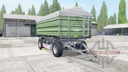 Fliegl DK 180-88 dark sea green для Farming Simulator 2017