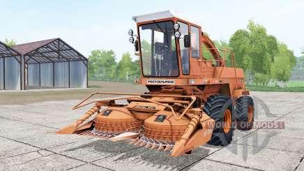 Дон-680 светло-оранжевый окрас для Farming Simulator 2017
