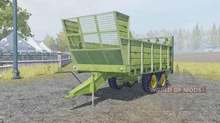 Fortschritt T088 change bodyworƙ для Farming Simulator 2013