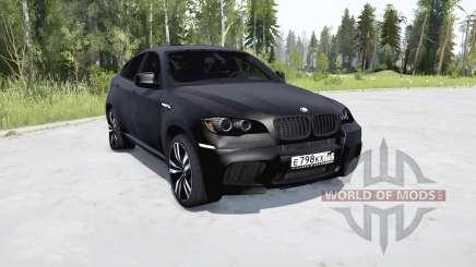 BMW X6 M (E71) для MudRunner