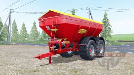 Bredal K165 increases spread для Farming Simulator 2017