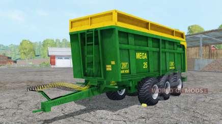 ZDT Mega 25 north texas green для Farming Simulator 2015
