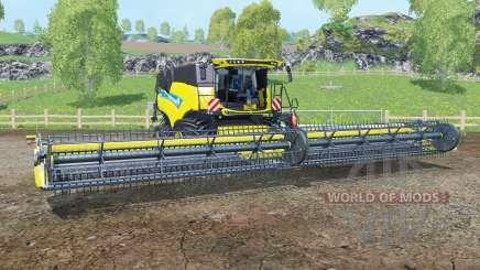 New Holland CR10.90 titanium ỿellow для Farming Simulator 2015