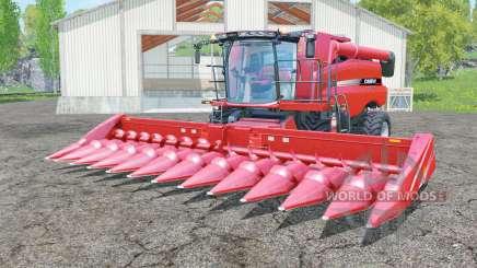 Case IH Axial-Flow 7130 with headers для Farming Simulator 2015