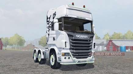 Scania R730 Topline для Farming Simulator 2013