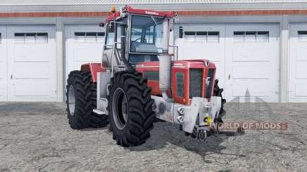Schluter Super-Trac 2500 VL added rear wheels для Farming Simulator 2013