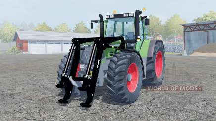 Fendt Favorit 816 Turboshift front loader для Farming Simulator 2013