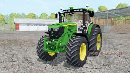 John Deere 6210R animated elemenƫ для Farming Simulator 2015