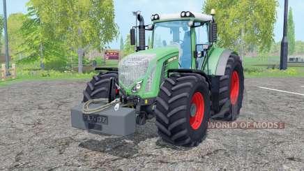 Fendt 936 Vario with weight для Farming Simulator 2015