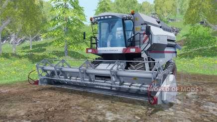 Vector 410 с жатками для Farming Simulator 2015