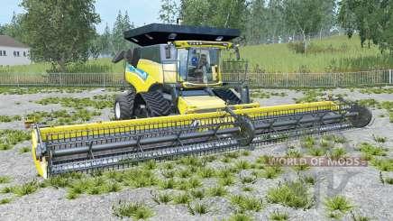 New Holland CR10.90 dynamic grainplane для Farming Simulator 2015