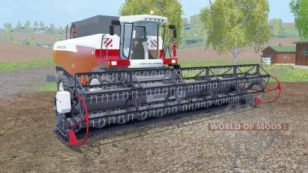 Acros 530 с жаткой для Farming Simulator 2015