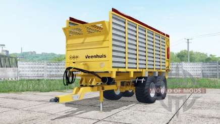 Veenhuis W400 bright yellow для Farming Simulator 2017