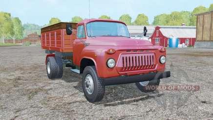 ГАЗ-САЗ-3507 умеренно-красный окрас для Farming Simulator 2015