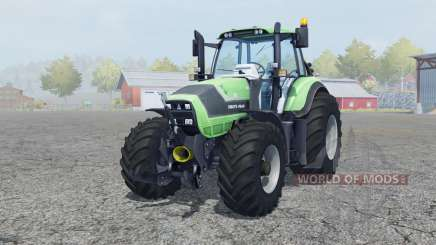 Deutz-Fahr Agrotron 6190 TTV front loader для Farming Simulator 2013