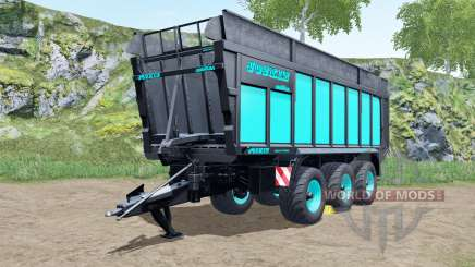 Joskin Drakkar 8600 blue and black для Farming Simulator 2017