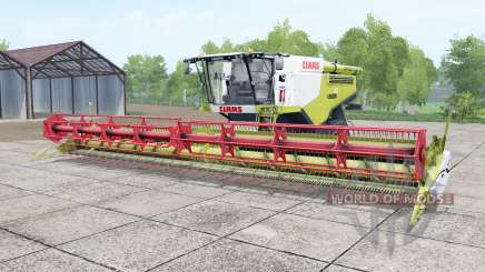 Claas Lexion 780 TerraTraꞔ для Farming Simulator 2017