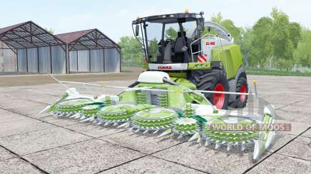 Claas Jaguar 980 android green для Farming Simulator 2017