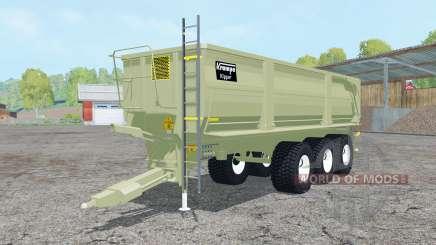 Krampe Big Body 900 S multifruit для Farming Simulator 2015