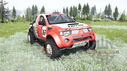 Mitsubishi L200 Triton Dakar для MudRunner