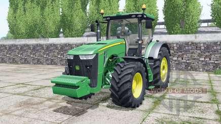John Deere 8320R pigment green для Farming Simulator 2017