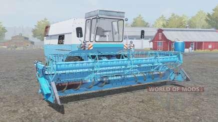 Fortschritt E 516 with headers для Farming Simulator 2013