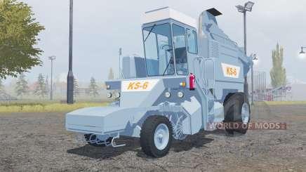 КС-6 без блеска шин для Farming Simulator 2013