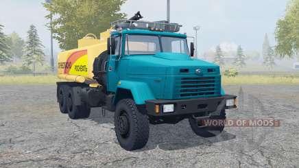 КрАЗ-6322 автоцистерна для Farming Simulator 2013