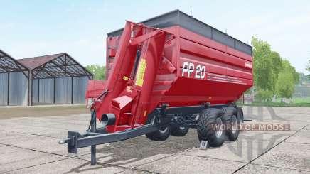 Metaltech PP 20 woodchips & chaff для Farming Simulator 2017