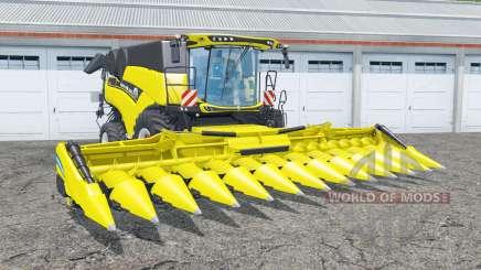 New Holland CR10.90 yellow and black для Farming Simulator 2015