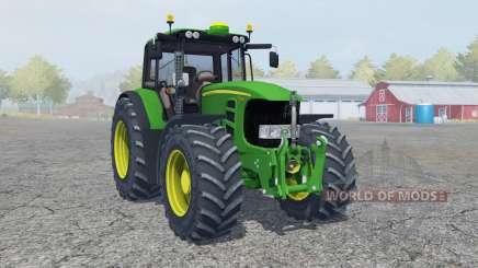 John Deere 7530 Premium moving elements для Farming Simulator 2013