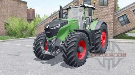Fendt 1046 Vario wheels selection для Farming Simulator 2017