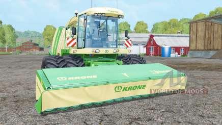 Krone BiG X 1100 dual front wheelʂ для Farming Simulator 2015